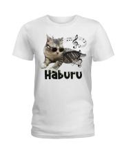 Haburu Meowssage Ladies T-Shirt thumbnail