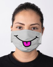 Tongue Out Face Mask Cloth face mask aos-face-mask-lifestyle-01