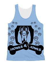 Howls and Jowls 2 All-Over Unisex Tank tile