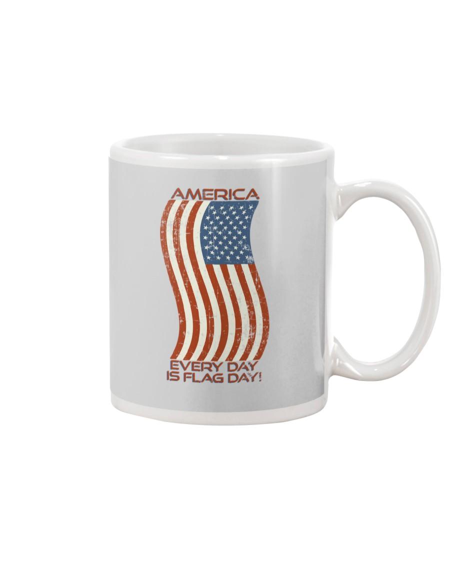 AMERICA Every Day is Flag Day Mug