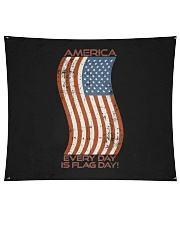 "AMERICA Every Day is Flag Day Wall Tapestry - 60"" x 51"" thumbnail"