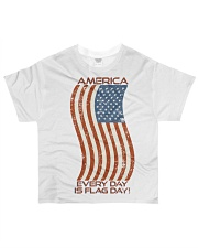 AMERICA Every Day is Flag Day All-over T-Shirt thumbnail