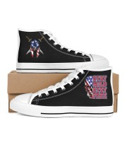 Stay Wild Stay FFree Men's High Top White Shoes thumbnail