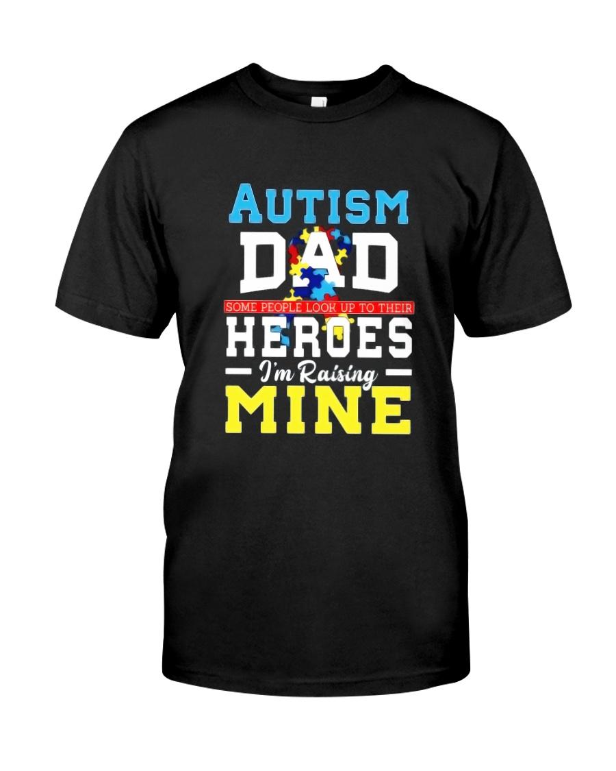 Autism Shirts For Dads Autism Awareness Produ Classic T-Shirt