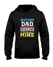 Autism Shirts For Dads Autism Awareness Produ Hooded Sweatshirt thumbnail