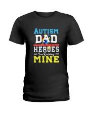 Autism Shirts For Dads Autism Awareness Produ Ladies T-Shirt thumbnail