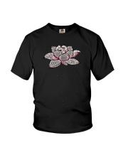 Namaste Mandala Lotus Yoga Youth T-Shirt thumbnail