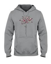 Namaste Mandala Lotus Yoga Hooded Sweatshirt thumbnail