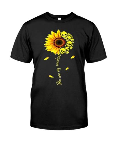 You are My Sunshine Skull Sunflower