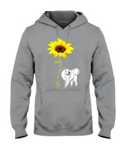 American Eskimo Hooded Sweatshirt thumbnail