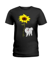 American Eskimo Ladies T-Shirt thumbnail