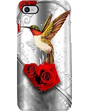 Hummingbird Rose Phone Case Phone Case i-phone-8-case