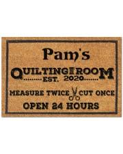 """For Quilters Doormat 22.5"""" x 15""""  front"""