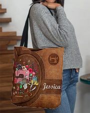 For Quilting Lovers All-over Tote aos-all-over-tote-lifestyle-front-09