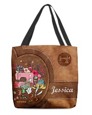 For Quilting Lovers All-over Tote back