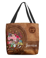 For Quilting Lovers All-over Tote front