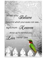 Hummingbird When You Believe Poster 11x17 Poster front
