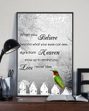 Hummingbird When You Believe Poster 11x17 Poster lifestyle-poster-2
