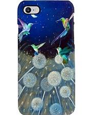 Hummingbird Dandelion Phone Case Phone Case i-phone-8-case