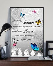 Butterfly When You Believe Poster 11x17 Poster lifestyle-poster-2