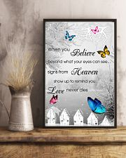Butterfly When You Believe Poster 11x17 Poster lifestyle-poster-3