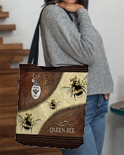 Queen Bee Tote Bag All-over Tote aos-all-over-tote-lifestyle-front-09