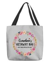 Grandma's Getaway Bag All-over Tote back