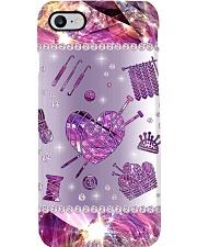 Knitting Phone Case Phone Case i-phone-8-case