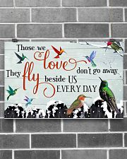 Hummingbird Those We Love 17x11 Poster poster-landscape-17x11-lifestyle-18