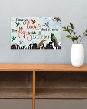 Hummingbird Those We Love 17x11 Poster poster-landscape-17x11-lifestyle-24