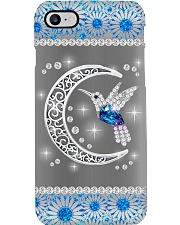 Hummingbird Blue Phone Case Phone Case i-phone-8-case