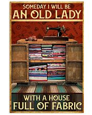 A House Full Of Fabric  11x17 Poster front