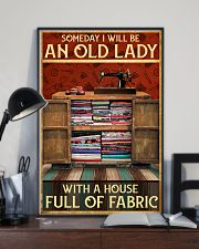 A House Full Of Fabric  11x17 Poster lifestyle-poster-2