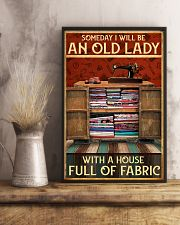 A House Full Of Fabric  11x17 Poster lifestyle-poster-3