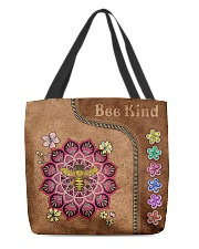 Bee Kind Leather Bag All-over Tote back