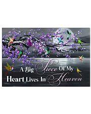 Hummingbird A Big Piece Of My Heart 17x11 Poster front