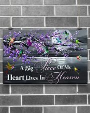 Hummingbird A Big Piece Of My Heart 17x11 Poster poster-landscape-17x11-lifestyle-18