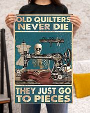 Old Quilters Never Die 16x24 Poster poster-portrait-16x24-lifestyle-18