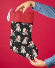Pug Christmas Christmas Stocking aos-christmas-stocking-lifestyles-02