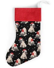 Pug Christmas Christmas Stocking front