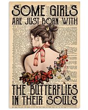 Butterfly Soul Girl  11x17 Poster front