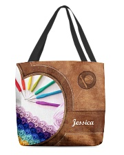 For Crochet Lovers All-over Tote front