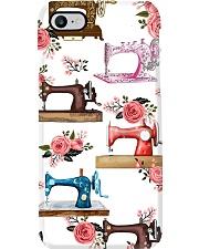 Sewing Machine Roses Phone Case Phone Case i-phone-8-case