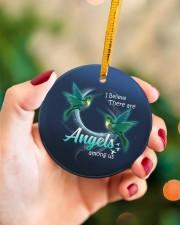 Hummingbird Angels Circle ornament - single (porcelain) aos-circle-ornament-single-porcelain-lifestyles-09
