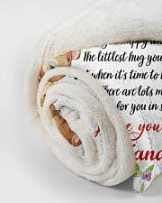 "Hugs To My Granddaughter Small Fleece Blanket - 30"" x 40"" aos-coral-fleece-blanket-30x40-lifestyle-front-18"