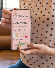 This Grandma Loves Her Grandkids Women's Leather Wallet Vertical aos-women-leather-wallet-vertical-lifestyle-front-01