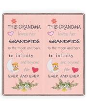 This Grandma Loves Her Grandkids Women's Leather Wallet Vertical full