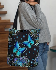 Butterfly Blue NTV All-over Tote aos-all-over-tote-lifestyle-front-09