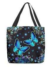 Butterfly Blue NTV All-over Tote back