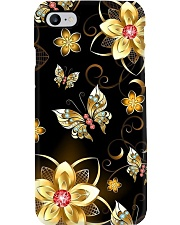Gold Butterfly Phone Case Phone Case i-phone-8-case